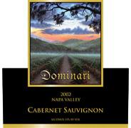 Dominari Cabernet Sauvignon, Atlas Peak, 2002