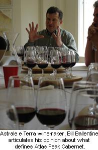 Astrale e Terra winemaker, Bill Ballentine