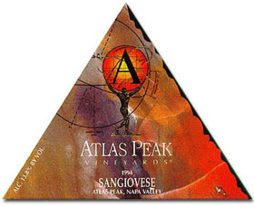 1994 Atlas Peak Vineyards Sangiovese