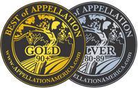 Best of Appellation Gold and Silver Medals