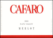 Cafaro Family Vineyard – Napa Valley Merlot