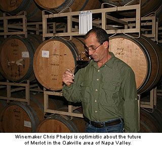 Swanson winemaker, Chris Phelps