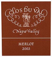 Clos du Val Merlot