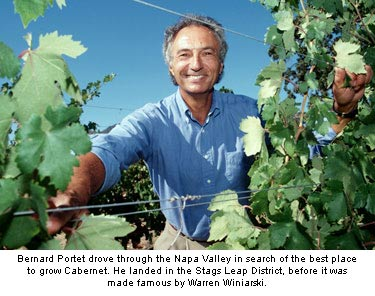 Clos du Val's Bernard Portet drove through the Napa Valley in search of the perfect place to grow Caberent