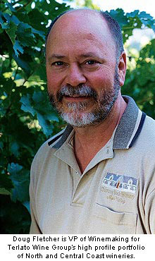 Doug Fletcher is VP of Winemaking for Terlato Group's high profile portfolio of North and Central Coast wineries