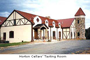Horton Cellars tasting room