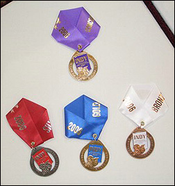 Indy Wine Competition Medals