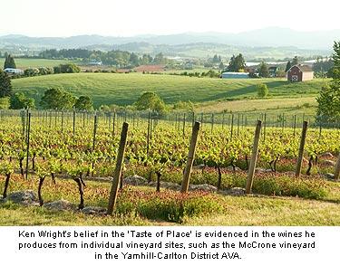 "Ken Wright believes in the ""Taste of Place"""