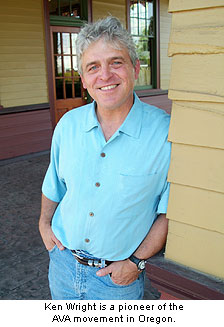 Ken Wright is a pioneer of the Oregon AVA movement