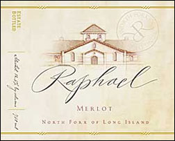 Raphael Merlot, North Fork of Long Island