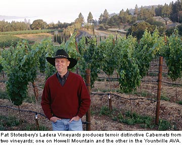 Pat Stotesbery of Ladera Vineyards