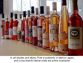 Long Island Rose Wines