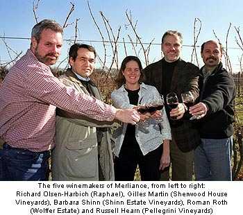 Long Island Merliance winemakers
