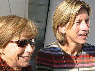 Mary Novak with daughter Beth Novak Milliken
