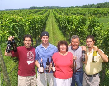 Paumanok vineyards' Massoud family