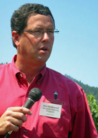 Pete Richmond of Silverado Farming Co