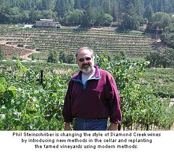 Phil Steinschriber is employing a stricter approach in the winery and vineyard
