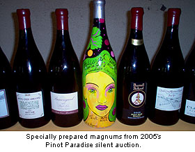 Special magnum bottlings of Pinot Noir from Santa Cruz Mountains producers