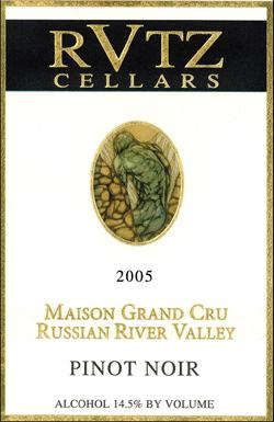 Rutz Cellars Pinot Noir