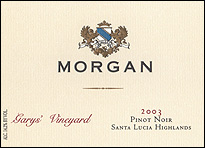 Morgan Winery – Gary's Vineyard Pinot Noir, Santa Lucia Highlands