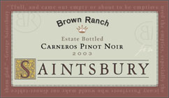 Saintsbury Brown Ranch
