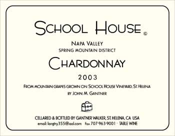 School House Chardonnay
