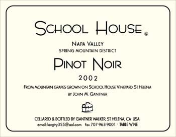 School House Pinot Noir