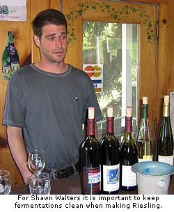 Shawn Walters explains his method of making great Riesling