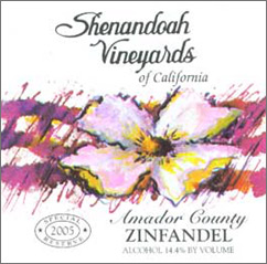 Shenandoah Vineyards Zinfandel