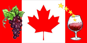 canadaFlag top 300  Wine consumption grows in Canada to 15 litres per person annually