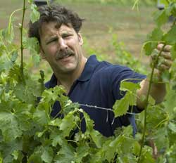 A&E's winemaker, Chris Carpenter