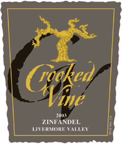 Crooked Vine Winery Zinfandel