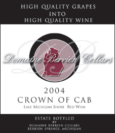 Domaine Berrien Cellars Crown of Cab