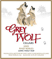 Grey Wolf Red