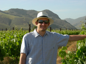 Second generation winegrower, Nicholas Miller enthusiastically leads Bien Nacido Vineyard into the 21st century.