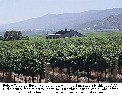 Robert Talbott's Sleepy Hollow Vineyard