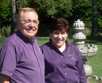 wayne-and-mary eline of Les Trois Emme Winery