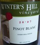 winters hill pinot blanc