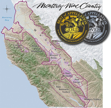 The diversity of the multiple sub-AVAs of Monterey County promise a wide range of varietals and wine qualities.<br>Therein lies the region's innate strength.
