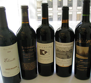 "Five Spring Mountain District Cabernet Sauvignons from the 2001 vintage were awarded ""Appellation Signature"" standing by the Discovery Panel of winemakers."