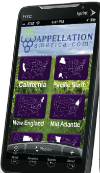 Appellation America Launches New App