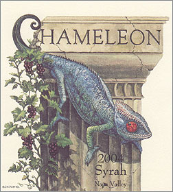 Chameleon Cellars 2004 Syrah, Stagecoach Vineyard (Atlas Peak)