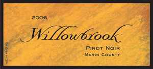 wine Willowbrook Cellars 2006 Pinot Noir  (Marin County)