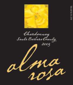 Alma Rosa Winery and Vineyards 2005 Chardonnay  (Santa Barbara County)