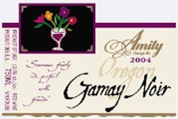 Amity Vineyards 2004 Gamay Noir, Anden Vineyards (Oregon)