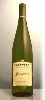 Arrowleaf Cellars 2005 Bacchus  (Okanagan Valley)