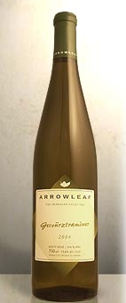 Arrowleaf Cellars 2005 Gewurztraminer  (Okanagan Valley)