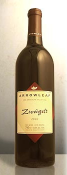 Arrowleaf Cellars 2004 Zweigelt  (Okanagan Valley)