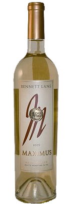 "Wine: Bennett Lane Winery 2005 Maximus ""White Feasting Wine""  (Napa Valley)"
