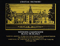 Biltmore Estate Methode Champenoise Blanc de Blancs Brut